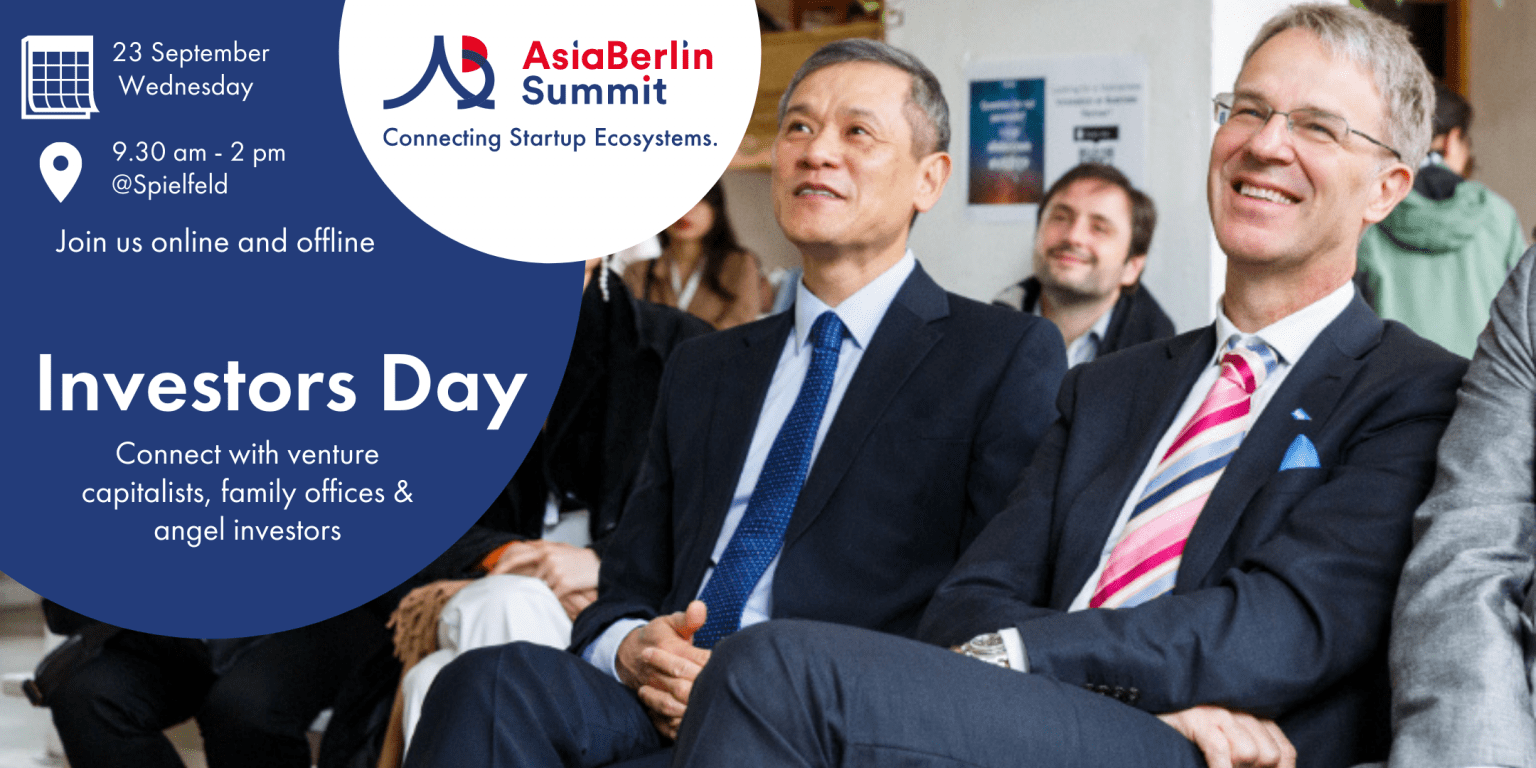 Introducing Investors Day at AsiaBerlin Summit 2020: Join us on 23 September