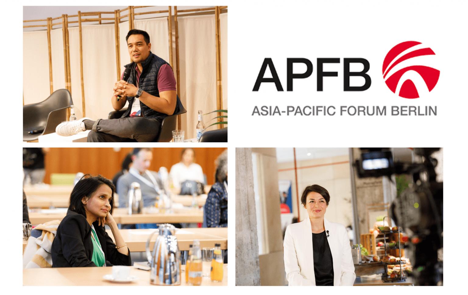 Welcoming three AsiaBerlin Ambassadors as Asia-Pacific Forum Berlin Board members