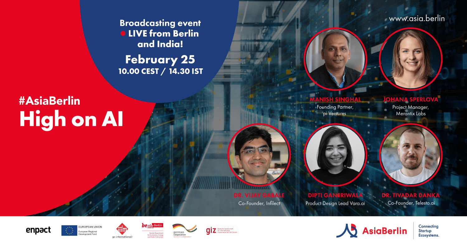 Join us for AsiaBerlin Event: High on AI? The German Indian Story
