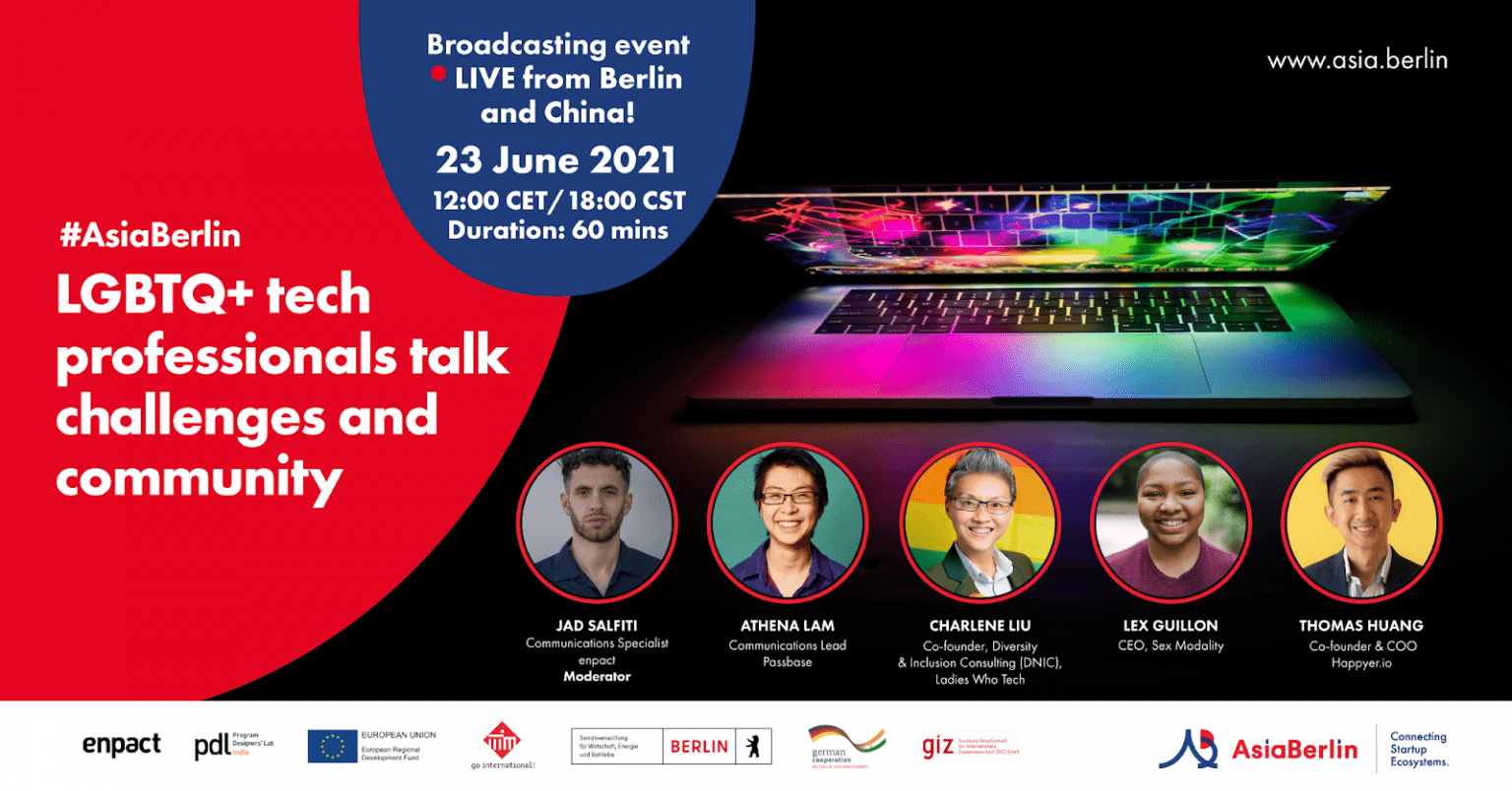 AsiaBerlin Event: LGBTQ+ tech professionals talk challenges and community on 23 JUNE